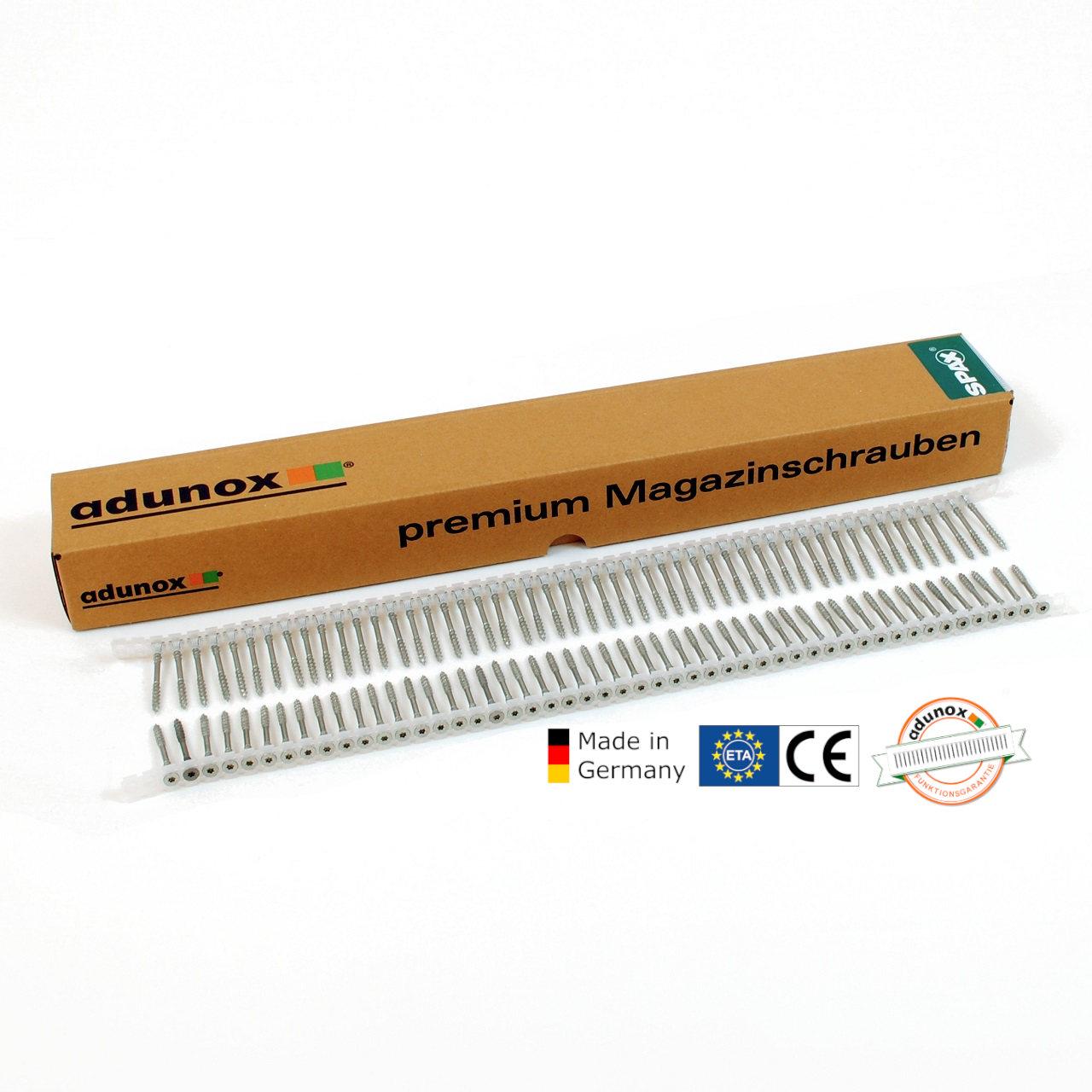 Magazinierte SPAX OSB Verlegeschrauben | WIROX | 4,5x70 | 500 Stk
