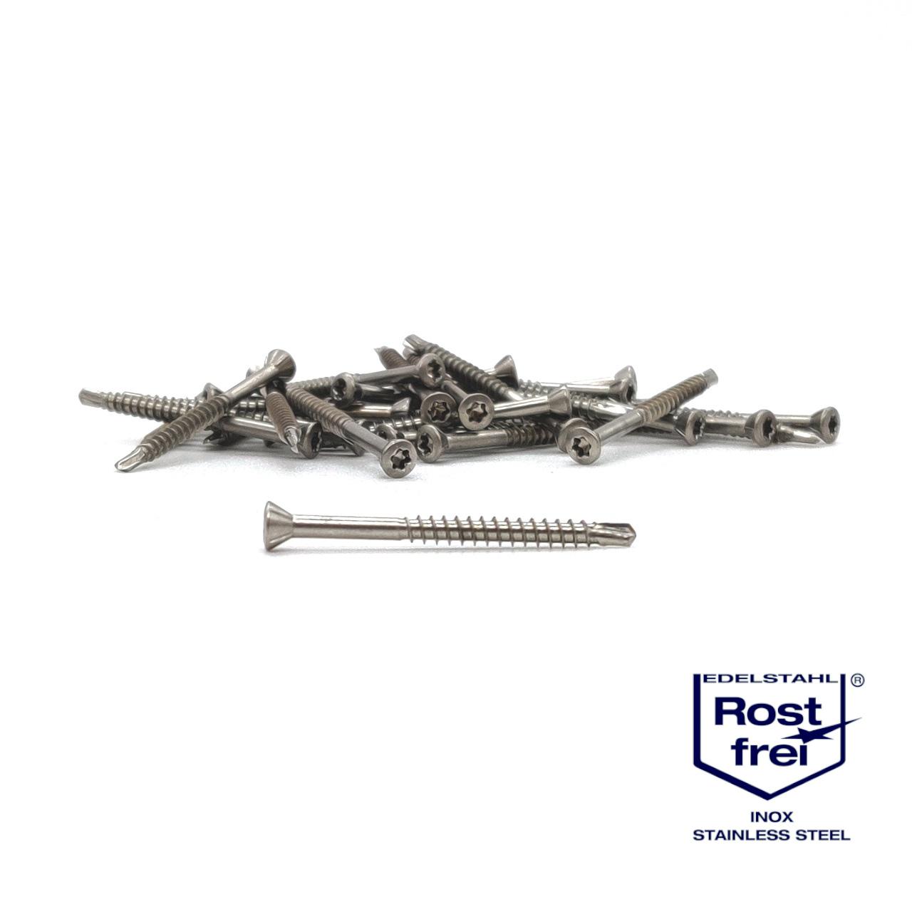Dielenschrauben | rostfrei A2 | 3,2x60 | 400 Stk
