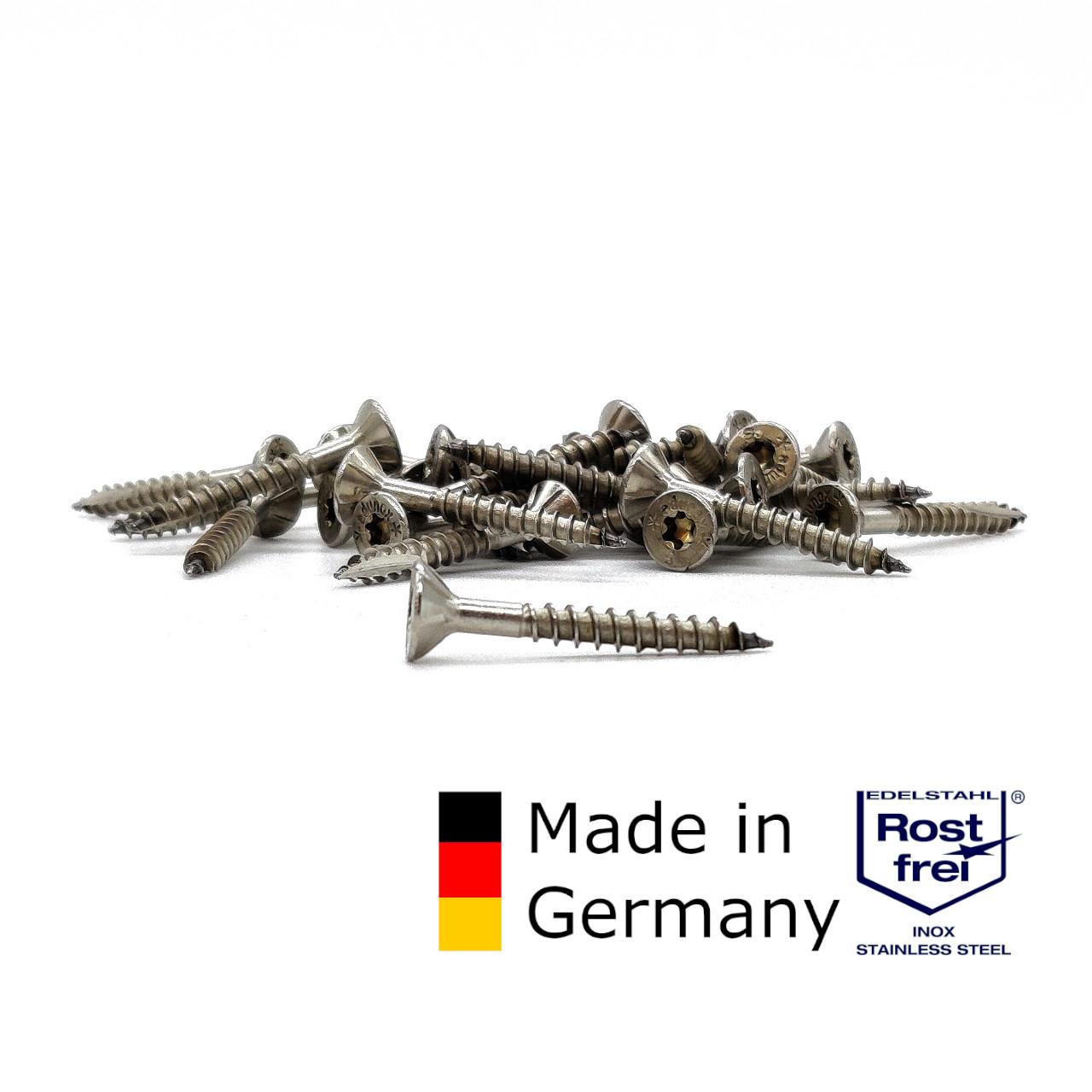 adunox Schieferschrauben | rostfrei A2 | 4,0x32 | 500 Stk