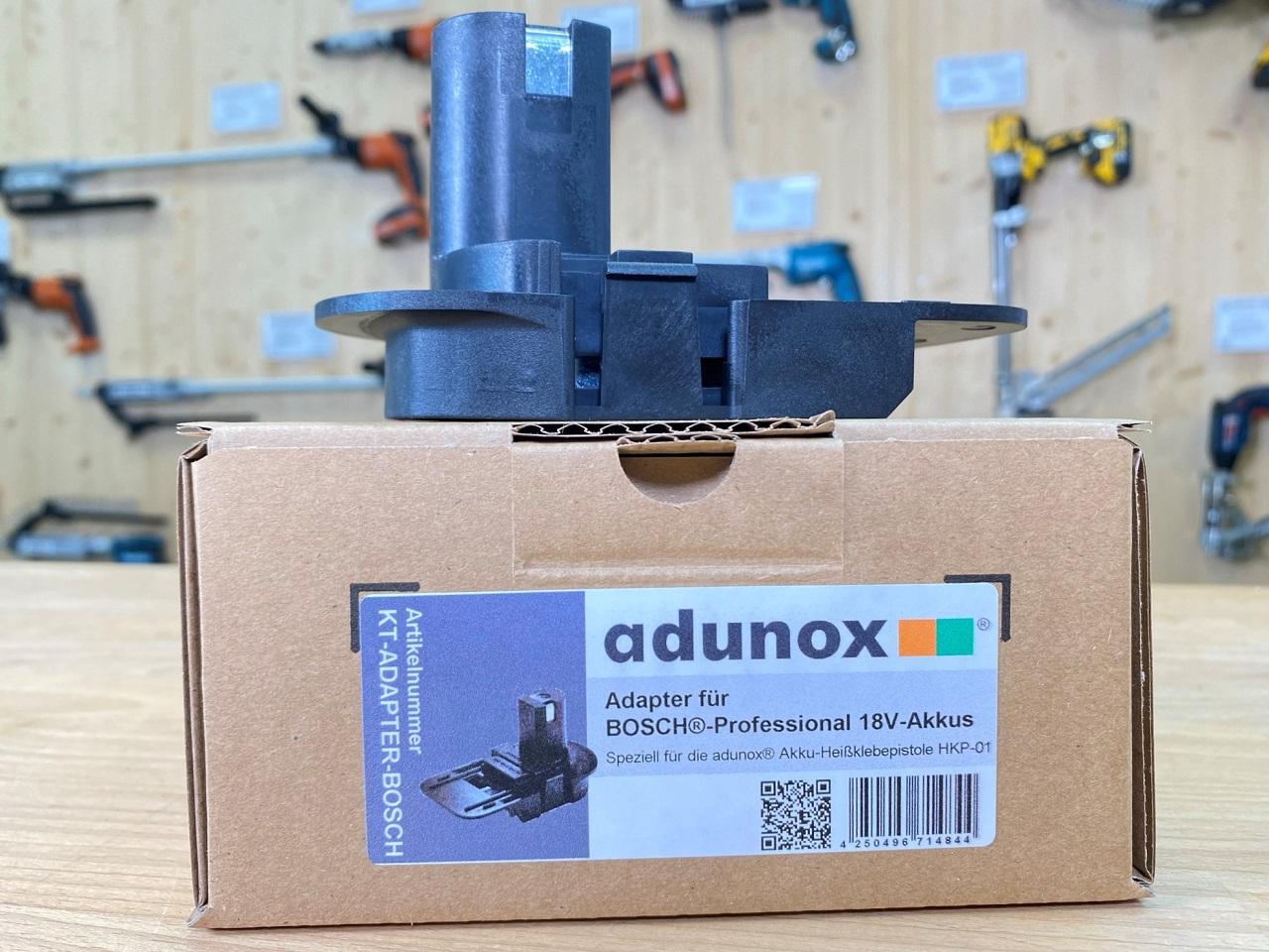 Adapter für Akku-Heißklebepistole HKP-01 | 18V-Akkus von Bosch®-Professional