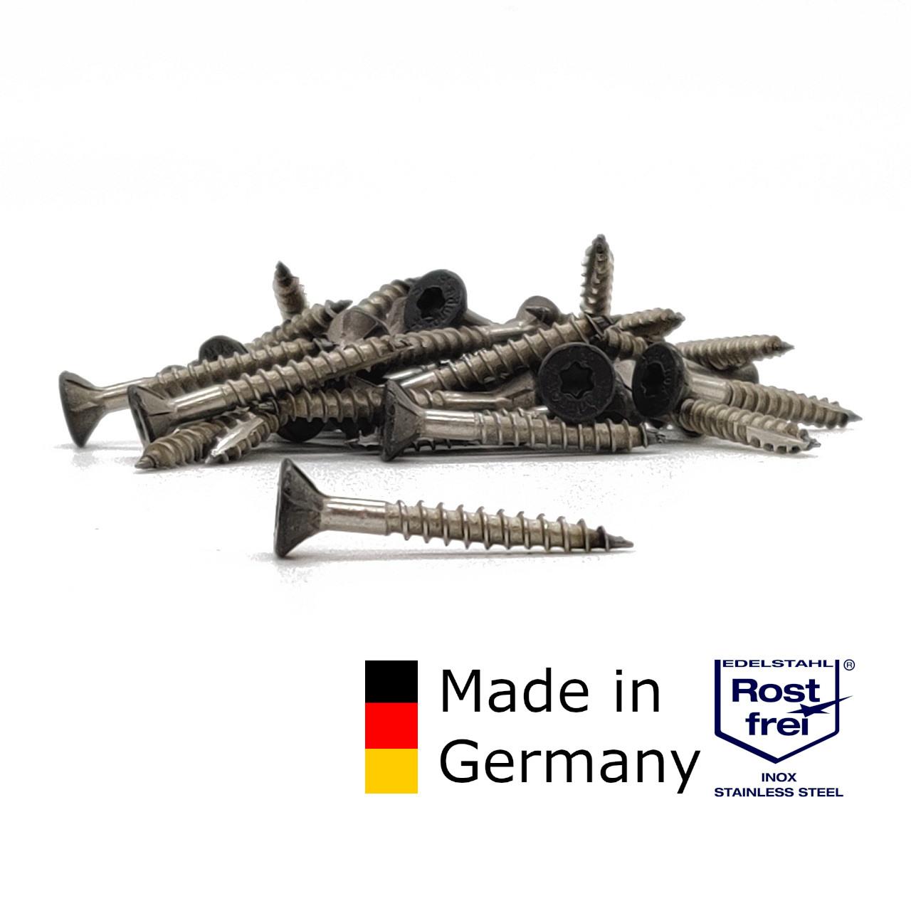 adunox Schieferschrauben | rostfrei A2 | gefärbt RAL 7016 | 4,0x32 | 500 Stk