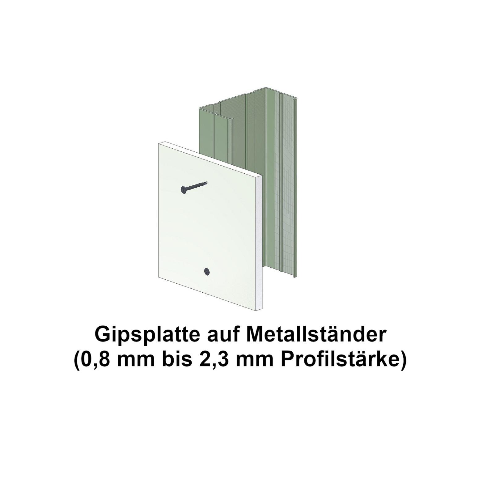 Magazinierte BLUEfast500® Schnellbauschrauben | Bohrspitze | 3,5x25 | 1.000 Stk