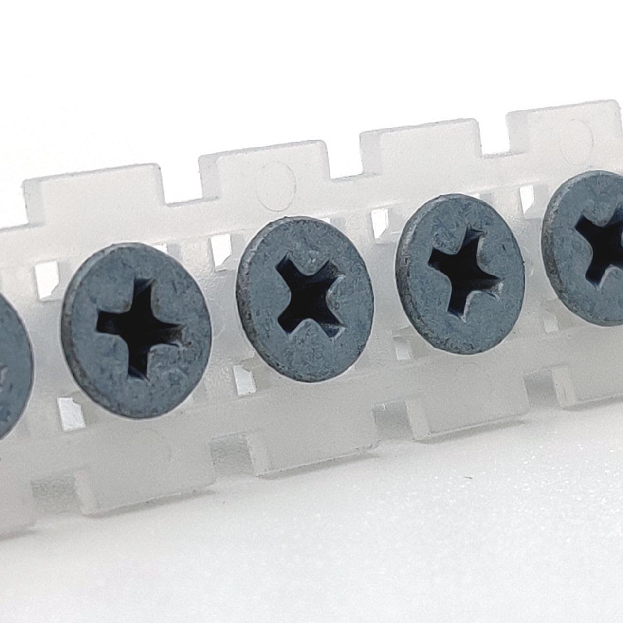 Magazinierte BLUEfast500® Schnellbauschrauben | Feingewinde | 3,9x35 | 1.000 Stk