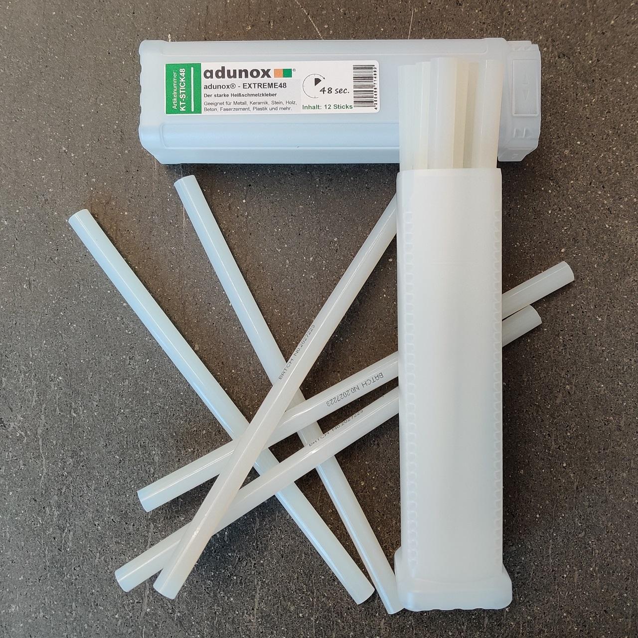 Heißschmelzkleber adunox®-EXTREME48 | 12 Sticks