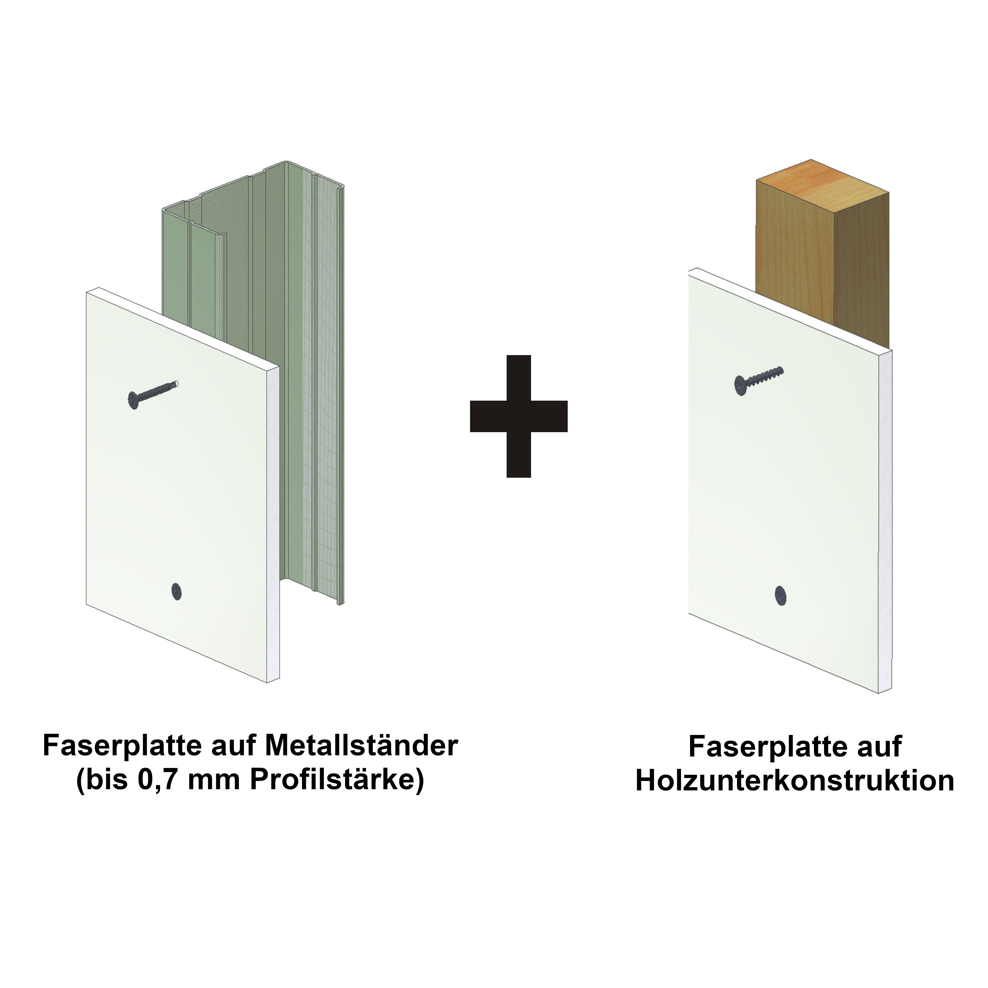 Magazinierte Faserplattenschrauben | phosphatiert | Hi-Lo-Gewinde | 1 Palette | 180.000 Schrauben | 3,9x45