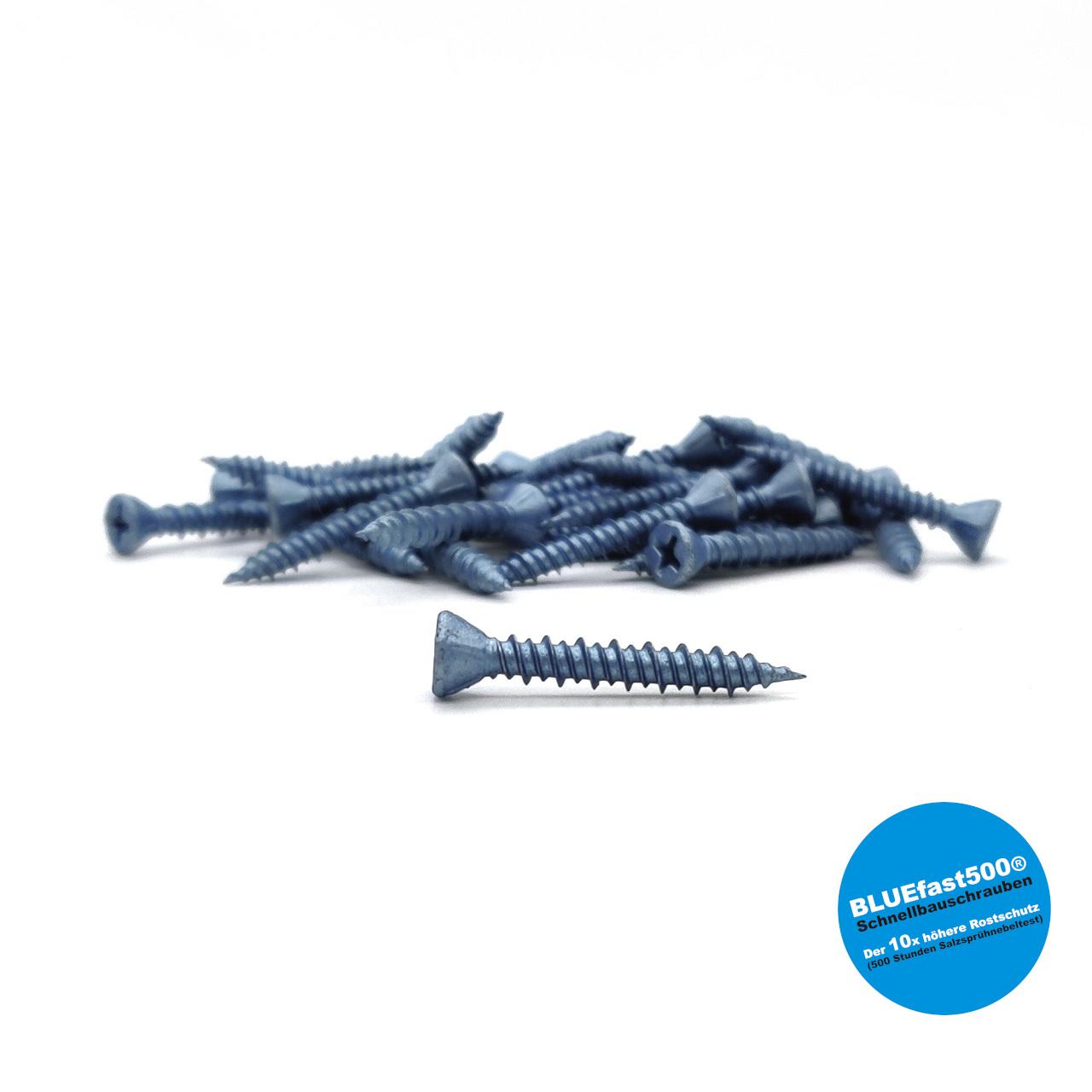 BLUEfast500® Faserplattenschrauben | Hi-Lo-Gewinde